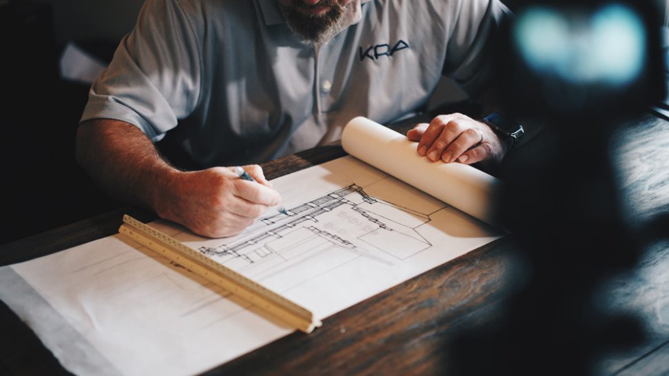 drawing architect